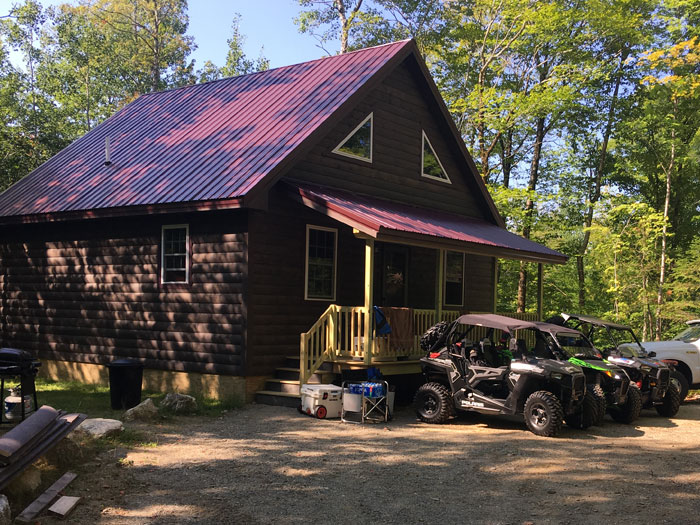 Camping In Maine Sleeping Bear Lodge Campground Cabins